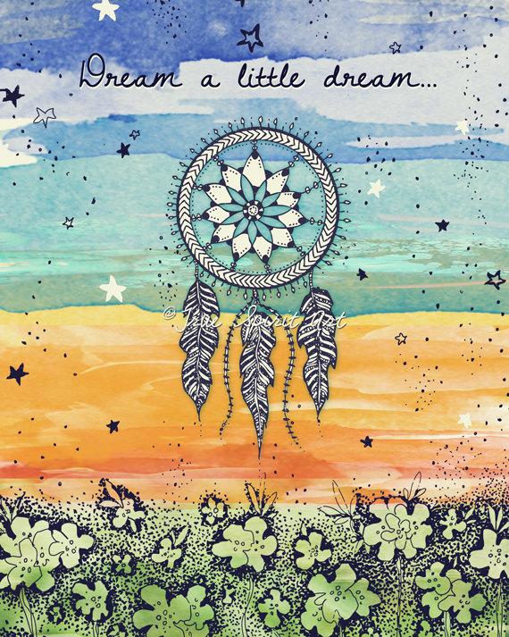 Dream a Little Dream by True Spirit Art