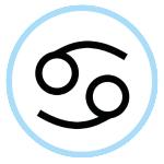 Cancer's Astrological Symbol