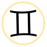 Gemini Astrological Symbol