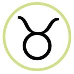 Taurus Astrological Symbol