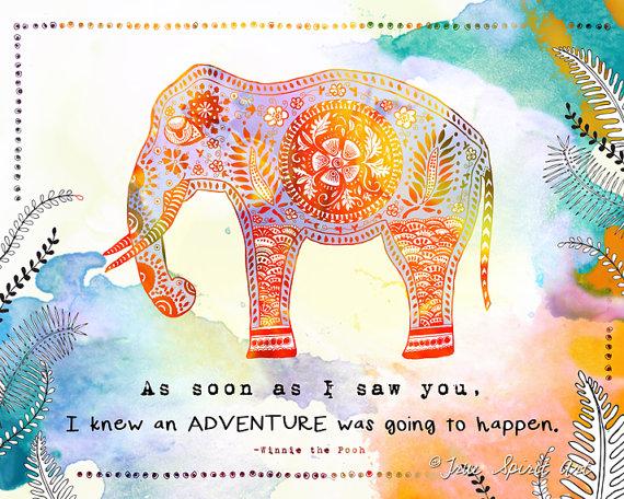 True Spirit Art Elephant Adventure