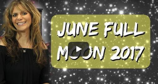 Video: June Full Moon in Sagittarius June 9 2017