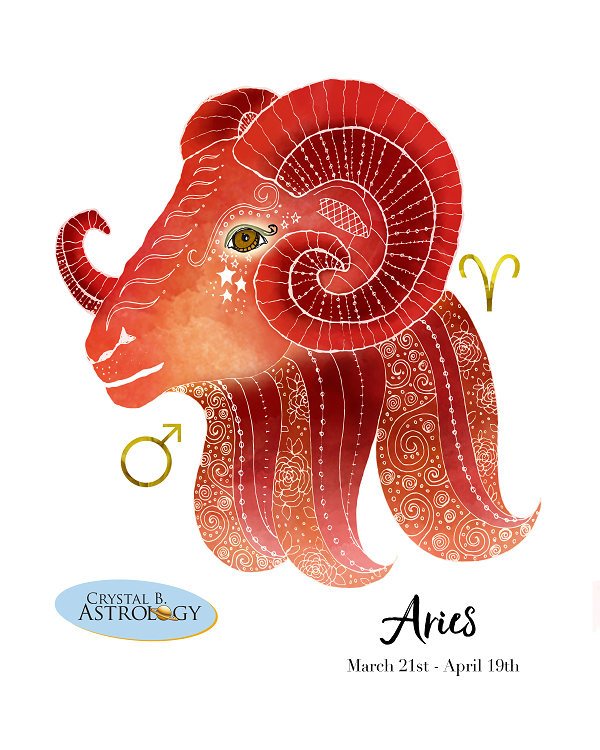 Aries March 21 - April 19