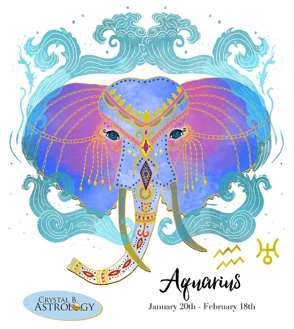 278b19a26 Aquarius Zodiac Sign Information | Horoscope Crystal Astrology