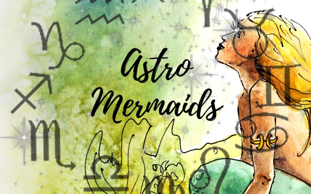 Astro Mermaids: Meet My New Mermaid of the Zodiac Collection
