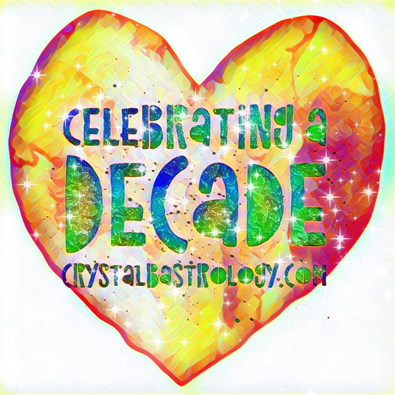 Celebrating a Decade of Crystal B Astrology
