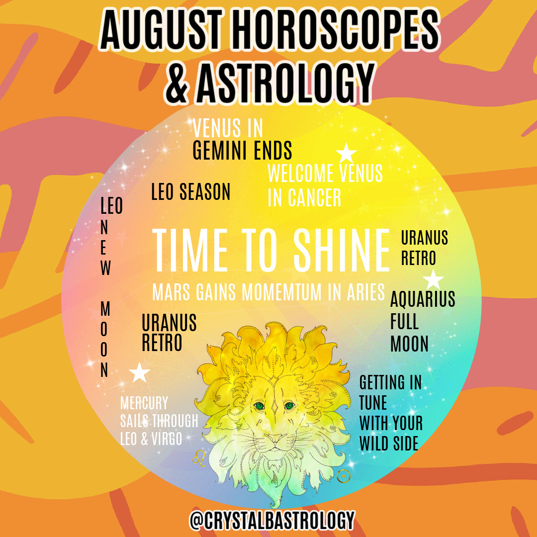 August 2020 Horoscopes and Astrology