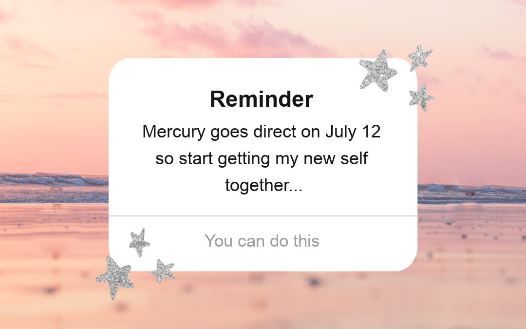 Mercury Retrograde Ends Plus Get Your 2020 Retrograde Check In List