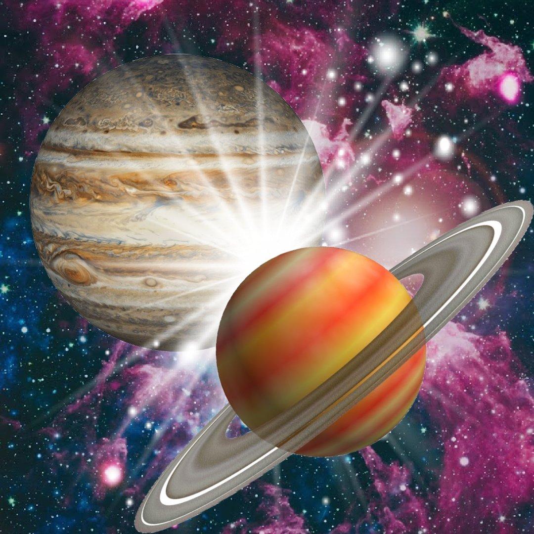 The Astrology Behind the Great Jupiter Saturn Conjunction in Aquarius: December 21 2020
