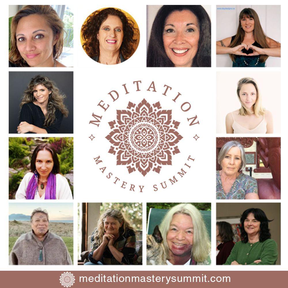 Meditation Mastery Summit: Attend Free Online September 2 – 5, 2021